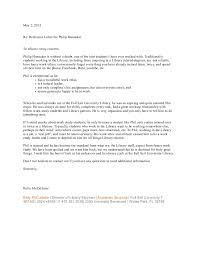 Recommendation Letter From Employer For Student Recommendation Letter From Previous Employer