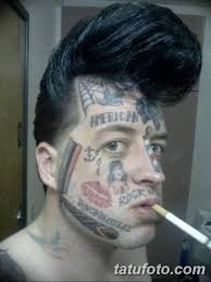 фото тату на лице 29042019 095 Face Tattoo Tatufotocom
