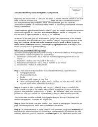 Annotated Bibliographyscrapbook Assignment