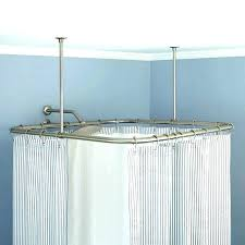 curved curtain rod shower curtain rod curved curved curtain pole curved curtain rod curved bay window