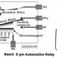 relay wiring diagram 5 pole relay image wiring diagram bosch relay wiring diagram 5 pole wiring diagram and hernes on relay wiring diagram 5 pole