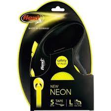 <b>Рулетка Flexi Neon</b> Reflect L лента 5м для собак до 50кг ...