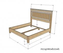 King Size Headboard Dimensions Plans Inspired Fancy Farmhouse Bed
