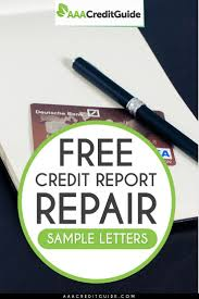 Free Credit Repair Sample Letters For 2019 Proven Templates