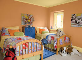 Orange Paint Colors For Bedrooms Orange Paint In Bedroom Bedroom Ideas
