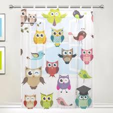Owl Curtains For Bedroom Popular Gauze Curtains Drapes Buy Cheap Gauze Curtains Drapes Lots