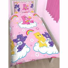 care bear reversible single bedding set