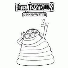 Hotel Transylvania 3 Kleurplaten Leuk Voor Kids