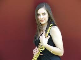 Teen saxophonist elizabeth mis