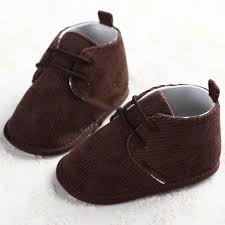 baby boy girl soft sole crib leather shoes infant toddler lace up sneakers sizes brown