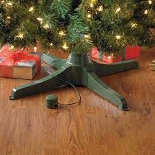 musical rotating christmas tree stand brylanehome