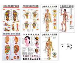 Hand Body Chart Details About Chinese Chart Foot Hand Body Ear Reflective Zones Therapy Massage Wall Poster