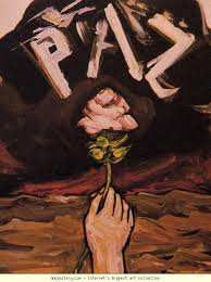 picture because it shows out of all the darkness and evil there can still be beauty this picture was painted in the year 1942 by david alfaro siqueiros