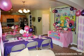 my little pony decorations my little pony party