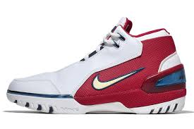 all lebron shoes 1 13. now affectionately known as the lebron 1, inspiration designer eric avar drew was from all lebron shoes 1 13