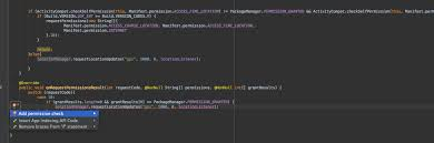 Android Studio After For Permission Checked Check Asking PrqHxP