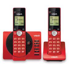 2 handset cordless answering system with caller id call waiting cs6929 26 vtech cordless phones