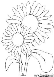 Girasole Disegno Da Colorare Fredrotgans