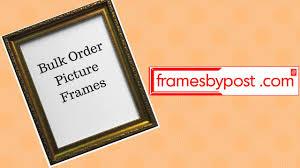 bulk order picture frames framesbypost com
