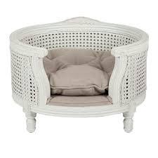 luxury pet furniture. luxury dog bed george linen ecru lord lou pet furniture