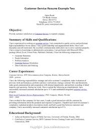 89 Customer Care Resume Sample Sample Entry Level Customer