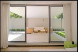 commercial glass sliding doors exterior is stylish and chic