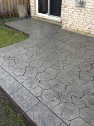covered stamped concrete patio. Decorative Concrete Patio Inspirational Random Stone Stamped Textured  Colored . Flagstone Stamped Concrete Patio Covering Ideas Covered