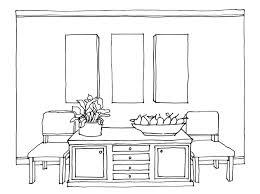 Simple Bedroom Drawing Home Design Jobs