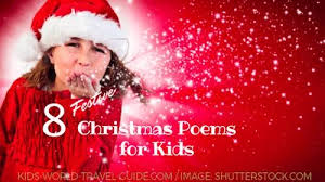 christmas poems for kids top 10