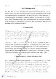 case study analysis of toys r us and amazon examining case study analysis of toys r us and amazon examining international alliances the logic behind sample