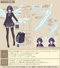 Sinoalice シノアリス On Concept And Illustration Art