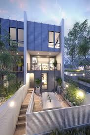 Townhouse by Conrad Architects, Australia. '