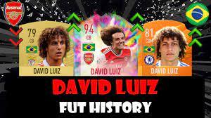 DAVID LUIZ | FIFA ULTIMATE TEAM HISTORY!!!!