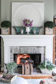 Mantle Without Fireplace 1331 Best Mantle Decorating Images On Pinterest Mantle
