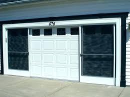 garage screens retractable garage door screen furniture retractable garage door screens cost sliding screen intended
