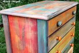 colorful painted furniture. Interesting Painted PatchworkpainteddresserShizzleDesignGrandRapidsMichiganchalk In Colorful Painted Furniture S