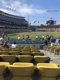 Dodgers Seating Chart With Rows Dodger Stadium Section 10fd Home Of Los Angeles Dodgers