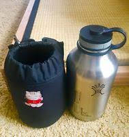 under armour 64 oz. hydro flask 64 oz vacuum insulated stainless w/carrier(black, no strap) under armour