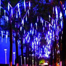 Smu Celebration Of Lights Amazon Com Meteor Lights 50cm 8 Tubes Led Falling Rain