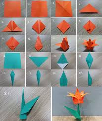 Paper Folded Flower 56 Fantastic Suggestions How To Make A Flower Origami Step