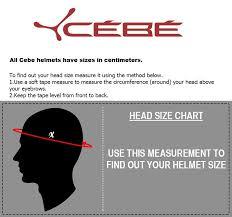 Cebe Size Guide