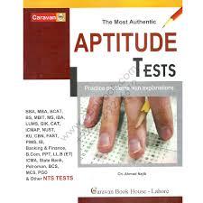 aptitude test by ch ahmed najib caravan book house cbpbook aptitude test