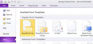 Form Library Sharepoint 2010 2010 How To Use Non Browser Forms Created By Infopath Filler