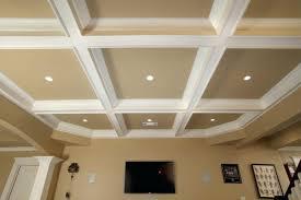 coffered ceiling lighting. Coffered Ceiling Lighting Exquisite Design Pleasant Featuring White Cream Colors Pot