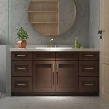 shaker style bathroom cabinets. Cowry VAC Shaker Style Bathroom Vanity Base With 18-in Side Drawer Bank Cabinets I