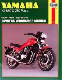 yamaha xj650 manual 1980 1984 yamaha xj650 xj750 xj 650 750 maxim seca haynes repair manual