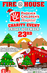 children hospital flyers flyer for firehouse phoenix childrens hospital charity event