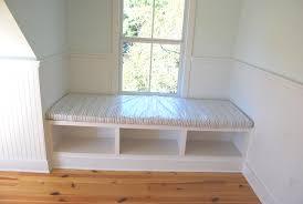 Built In Bench Bedroom Built In Bench The Barefoot Bungalow