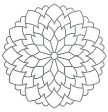 Mandala Coloring Pages Printable Free Kids Psubarstoolcom