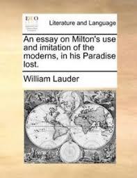 paradise lost essays